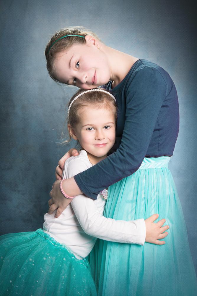 Rodinné focení - sestry - Praha