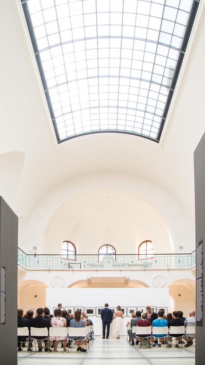 Svatba v oblastní galerii Liberec