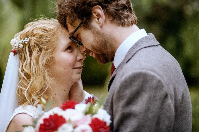 Fotografie novomanželů